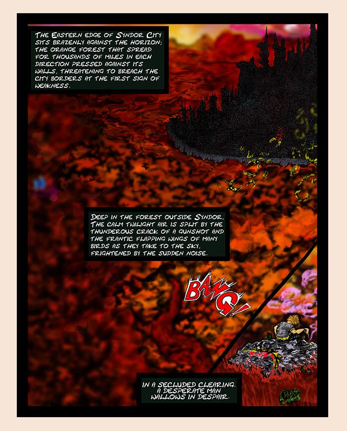 Prologue: Page 1: A Desperate Man